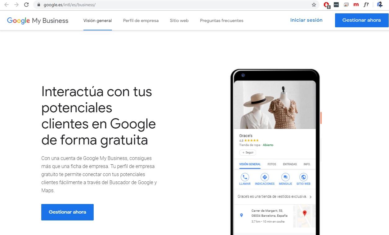 Alta google business